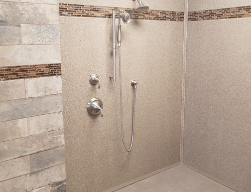 Onyx shower – N.H.