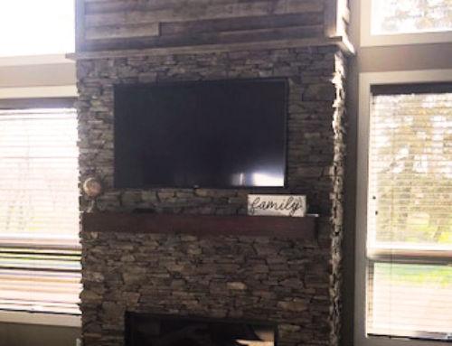 L – Fireplace